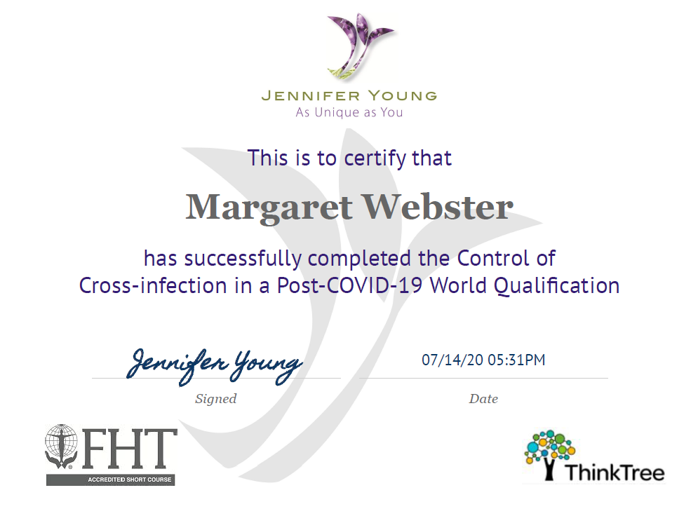 Control-of-Cross-infection-Certificate